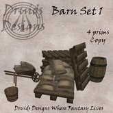 Druids Designs Barn Set 1 Boxed
