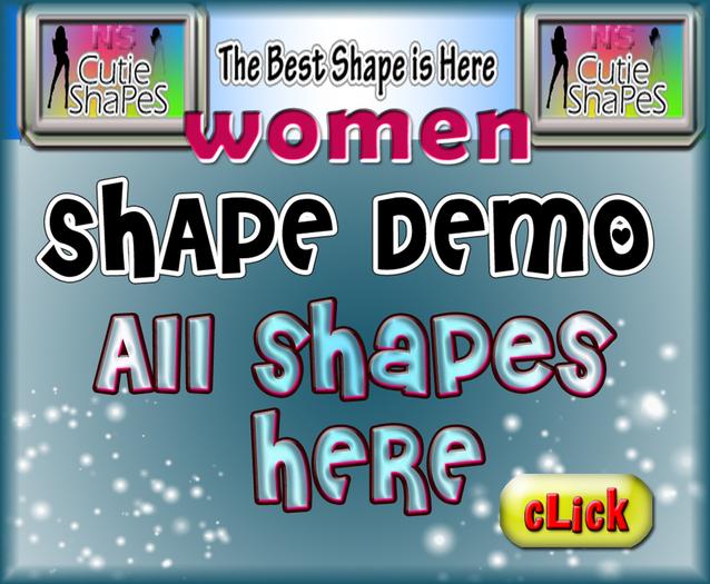 Demo NS cutie Shape for Female