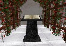 black minister altar