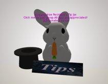 Bunny tip jar/group joiner