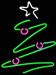 Neon Christmas Tree Sign