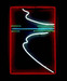 Neon Abstract Picture Sign