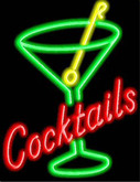 Neon Cocktails Sign 1