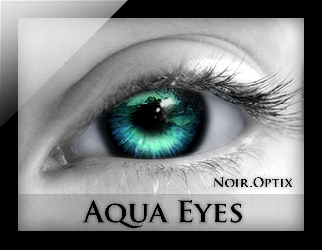 NoirOptix - Aqua Eyes (3 Sizes)