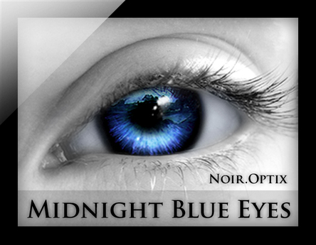 NoirOptix - Midnight Blue Eyes (3 Sizes)