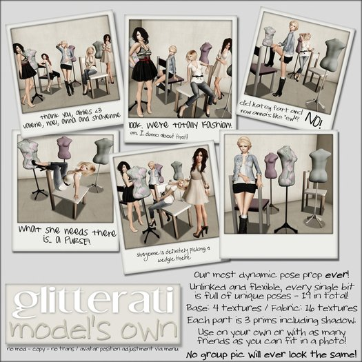 GLITTERATI - Model's own