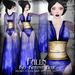 Falln Kio Kimono Blue