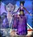 Falln Kio Kimono Purple
