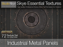 Industrial Metal Panels - 72 Skye Essential Full Perms Textures
