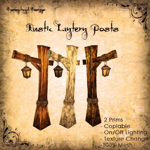 [DDD] Rustic Lantern Post