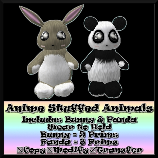 Anime Stuffed Animals