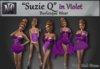 """Suzie Q"" in Violet"