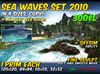 Sea waves in 4 sizes - 2010 collection - COPY + offsim