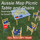 Aussie Picnic Table and Chairs