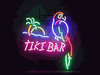 Neon Tiki Bar Sign