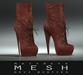 Maitreya Mesh * Devi Booties Rust