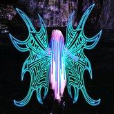 Blue Rave Wings by Aqua Vitae
