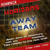 HORIZONS, Away Team Transporter Interface