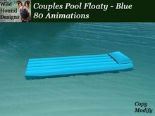 [WHD] -- Pool Floaty - Couples - Blue - 80 animations