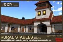 Rural stables estate