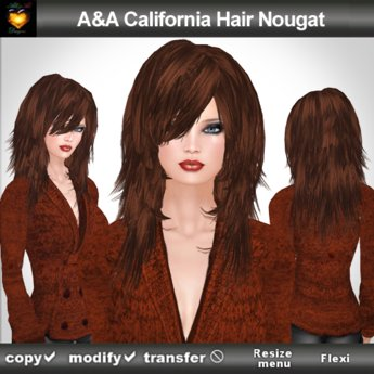 A&A California Hair Nougat