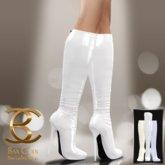 BAX Prestige Boots White Latex