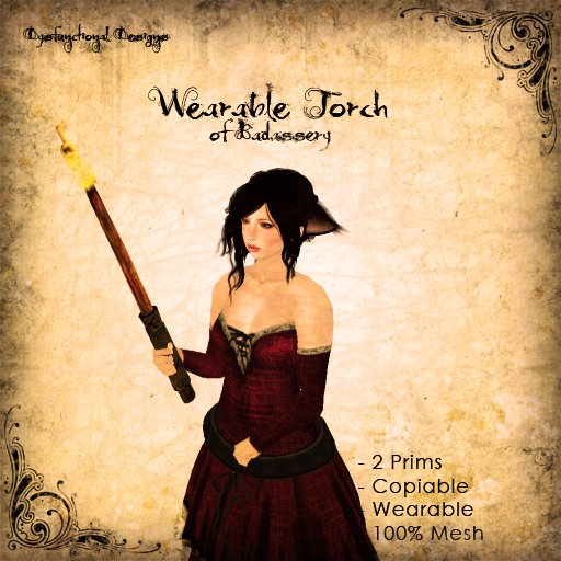 [DDD] Wearable Mesh Torch