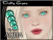 ~*By Snow*~ Dolly Eyes (Aqua)