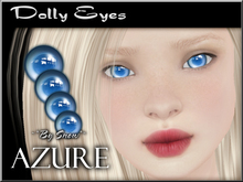~*By Snow*~ Dolly Eyes (Azure)