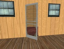 Screen Door plus built-in Screen Texture - Full Perms