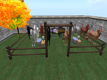 :::IDJ::: Horse Corral with Texture Changer