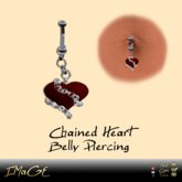 IMaGE Factory Chained Heart Belly Piercing