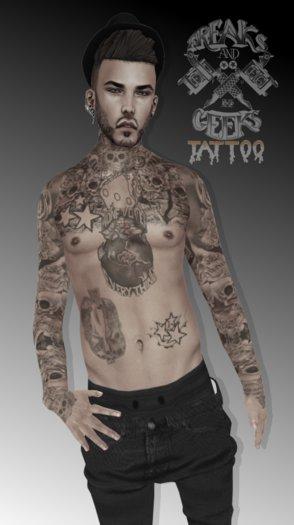 ..:Freaks & Geeks:.. M.O.E HD tattoo