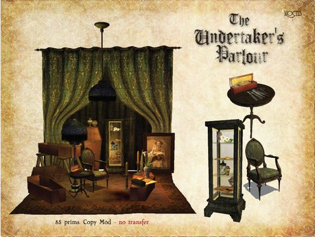 [noctis] The Undertaker's Parlour BOXED