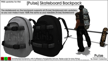 [Pu!se] Skateboard Backpack