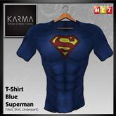 Karma - T-Shirt Blue Superman