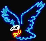 Neon Eagle Sign
