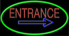 Neon Entrance Sign 2
