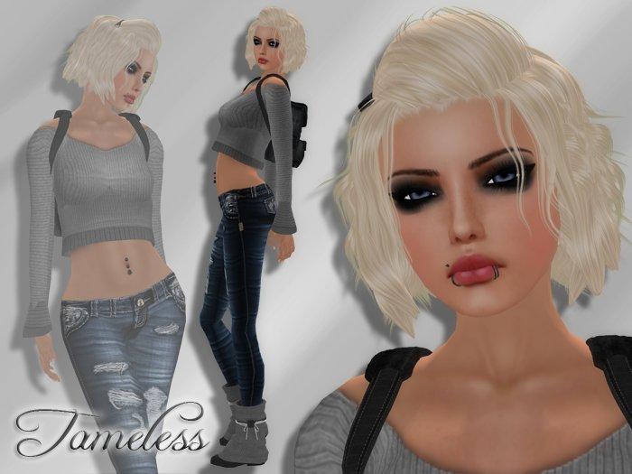 *Marketplace PROMO PRICE* Tameless Complete Female Avatar - Rose