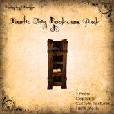 [DDD] Rustic Bookcase (Tall & Thin) B