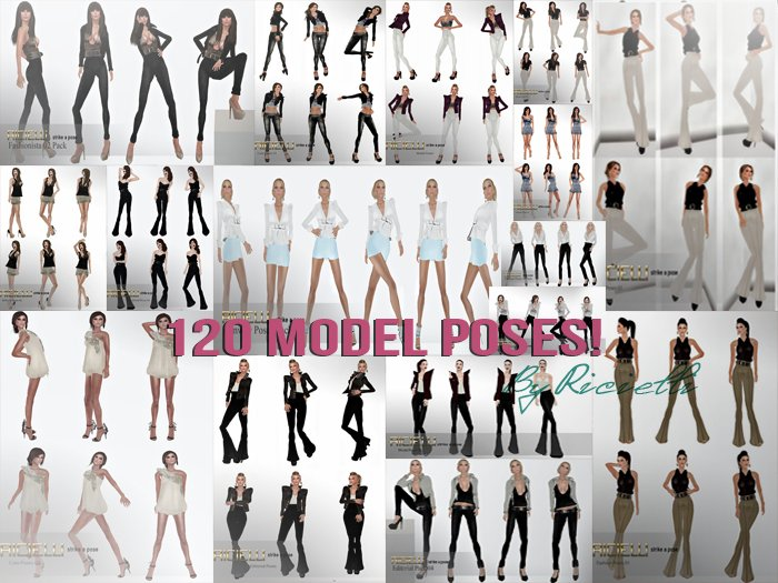 R.icielli - 120 MODEL POSES / PROMOTION!