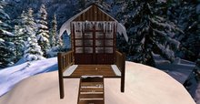 Once upon time... Winter Small Cabin 1