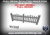 ~Full perm wooden fence + Maps! for builders 2 parts (see pic 2) 1 prim each