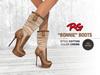 *REDGRAVE* Bonnie-Boots Cotton --Creme--