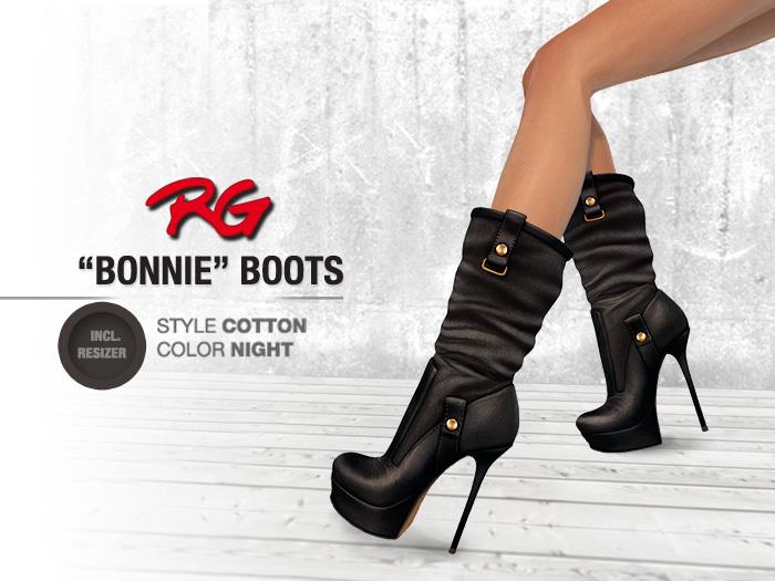 *REDGRAVE* Bonnie-Boots Cotton --Night--