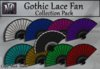 Gothic Lace Fan Collection Pack