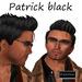 "EdelStore man hair "" Patrick ""  black hair male hair boy hair guy hair Mann Haare Männer haare knight modern style"