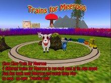 Meeroo Trains set