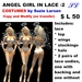 OnP 2 costume angel in lace