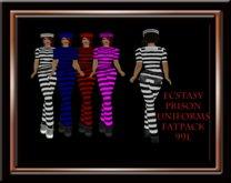 Ecstasy Prison Uniform FatPack